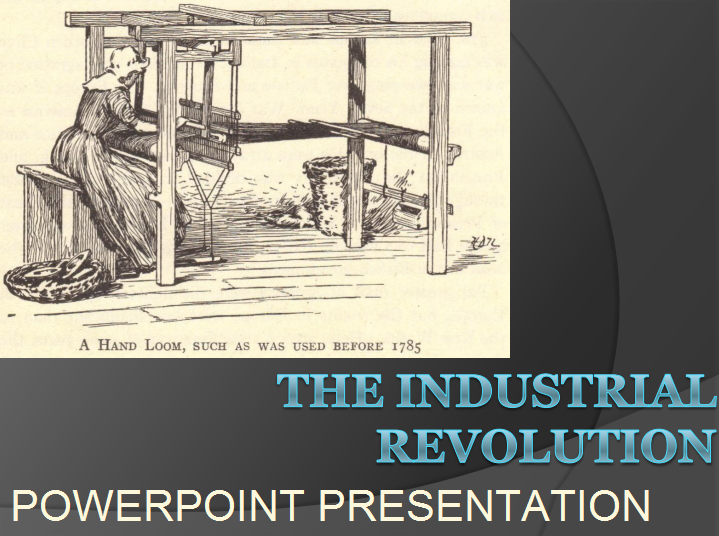 The Industrial Revolution - PowerPoint Presentation with 115 Slides and Guided Student Notes for High School