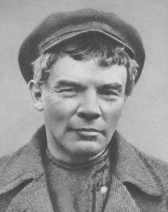 Vladimir Lenin at Finland Station, 1917