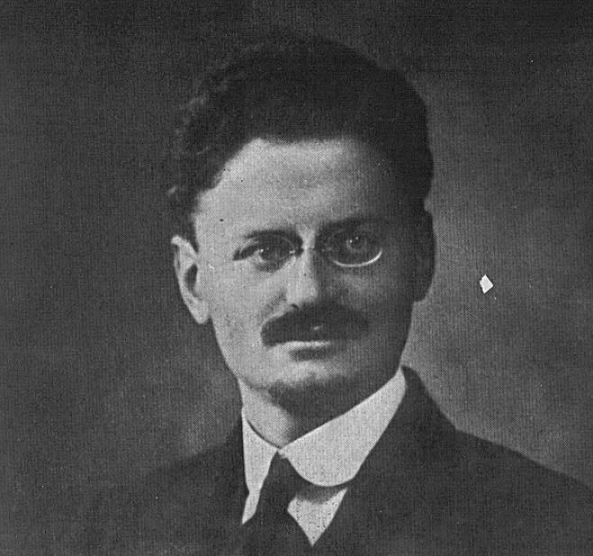 Leon Trotsky in 1918