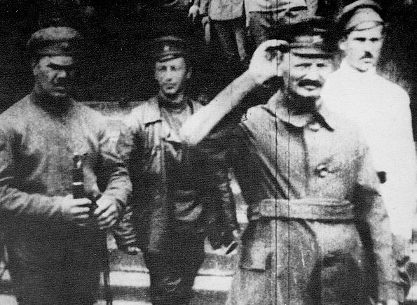 Leon Trotsky in the Russian Civil War, 1919