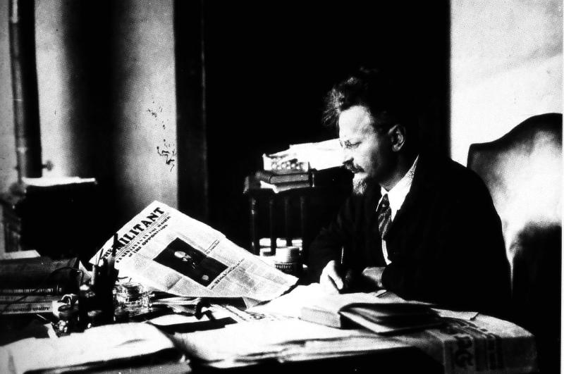 Leon Trotsky in Mexico, 1931