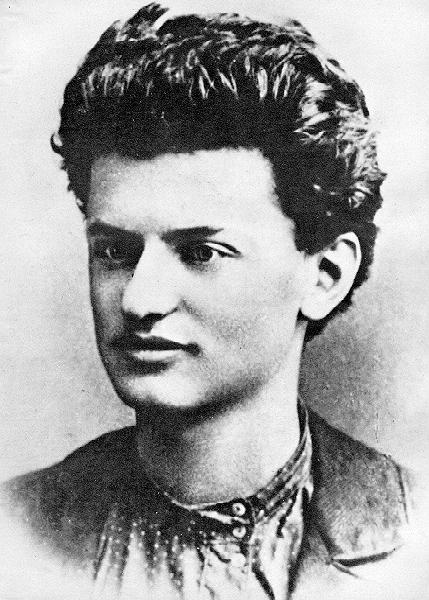 Young Leon Trotsky (Age 20)