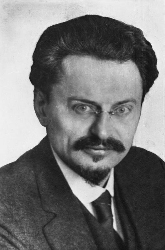 Portrait of Bolshevik Leon Trotsky