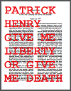 Give Me Liberty or Give Me Death by Patrick Henry (1775)