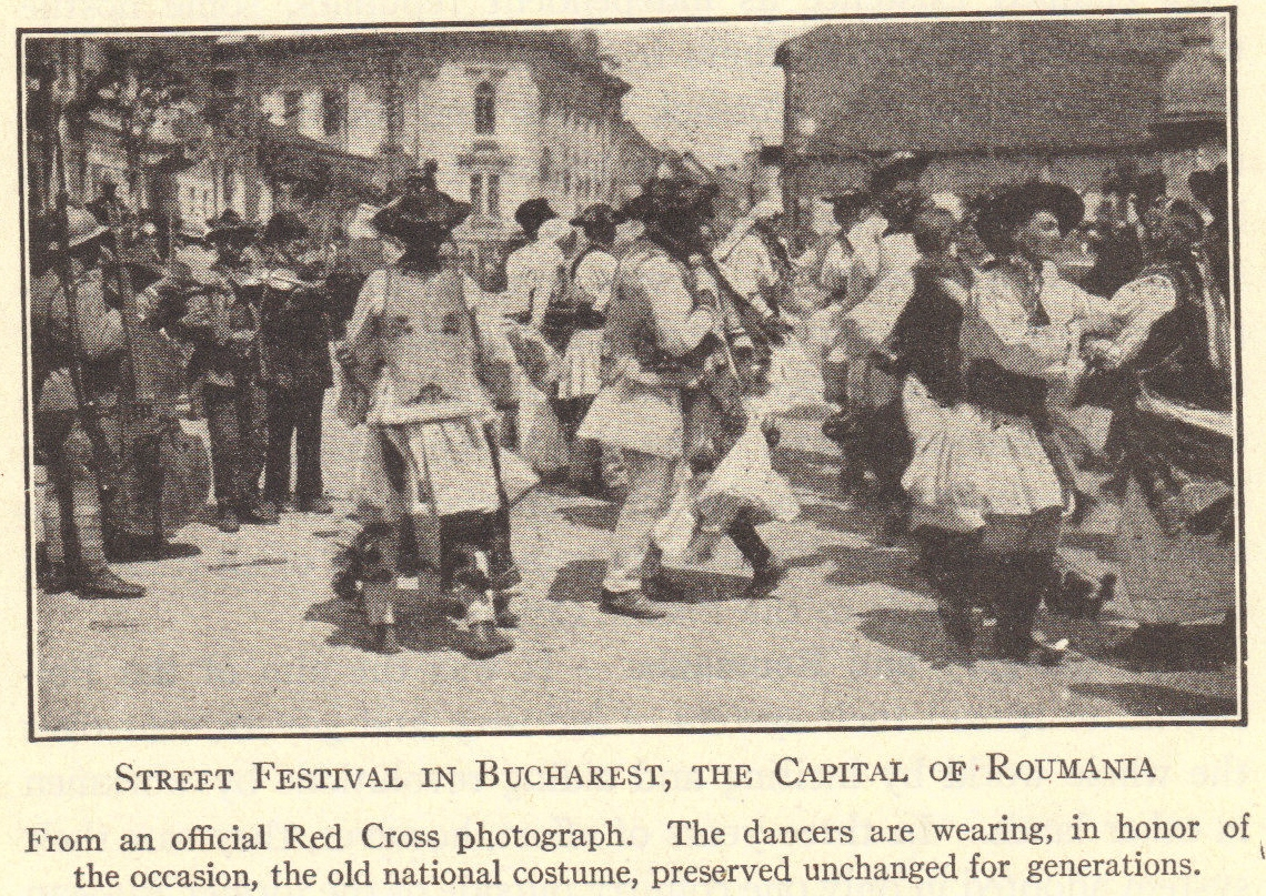 Bucharest Street Festival, circa 1920