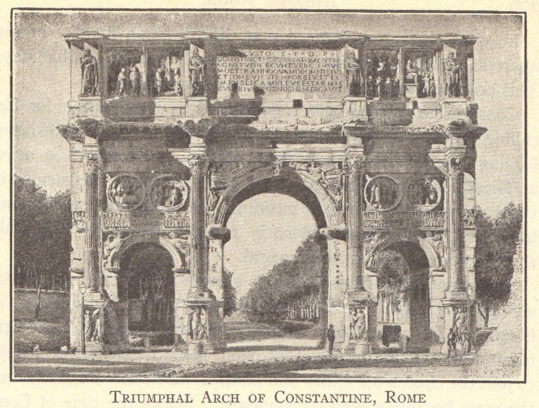 Triumphal Arch of Emperor Constantine