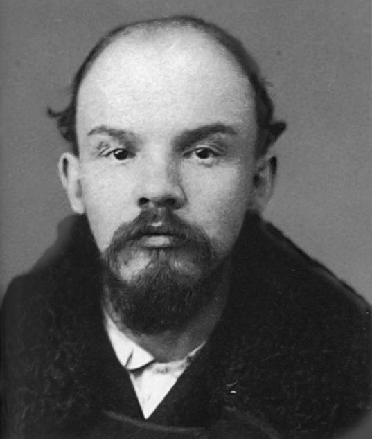 Vladimir Lenin Mug Shot