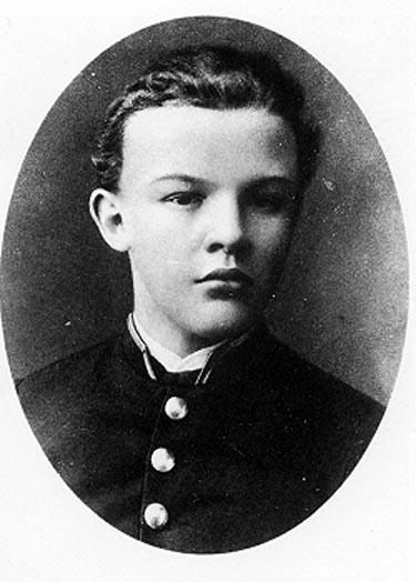 Young Vladimir Ilyich Lenin
