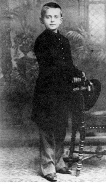 Leon Trotsky at Age 9