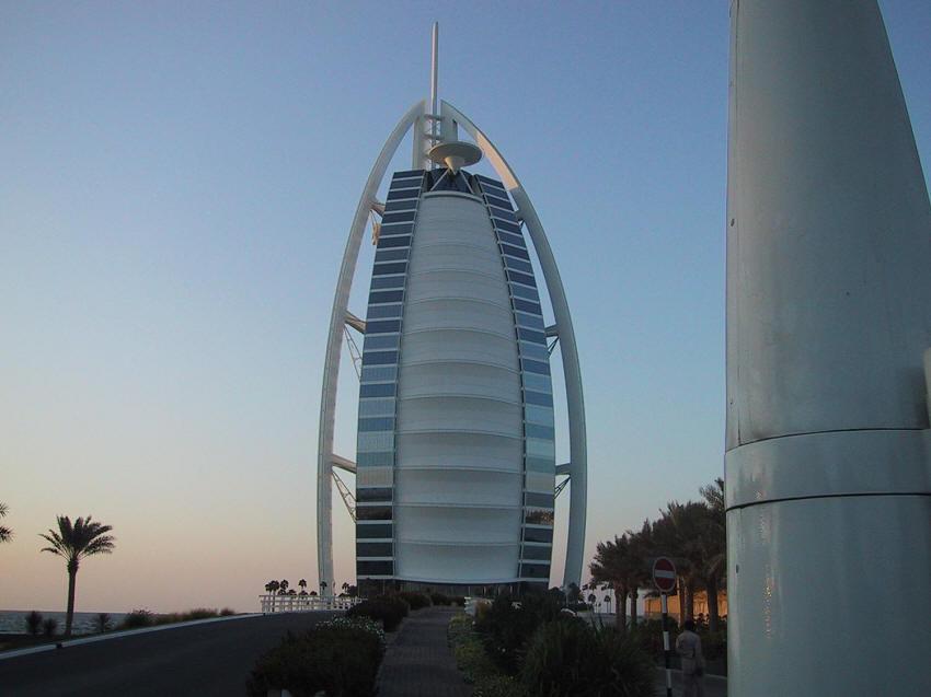 Burj-al-Arab Hotel, Dubai, United Arab Emirates