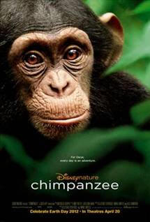Chimpanzee (Disney Nature Series Movie, 2012) Guide and Review for Teachers and Parents