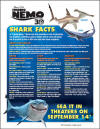 Finding Nemo Shark Facts Printable for Kids