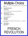 French Revolution Multiple-Choice Test with 42 Questions
