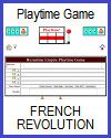 French Revolution Playtime Quiz Game