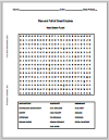 Rise and Fall of Great Empires Word Search Puzzle