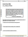 Livy's History of Rome DBQ Worksheet