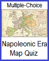Europe in 1812 Map Quiz; Grades 9-12