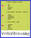 Verbal Reasoning Games and Tests