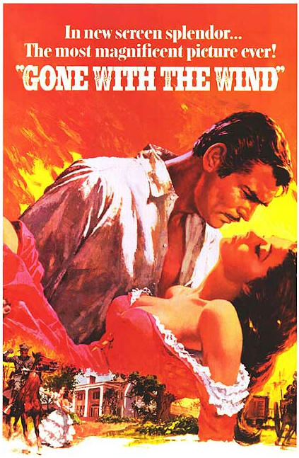 Gone with the Wind (1939) - Movie review and guide for parents and American History teachers.