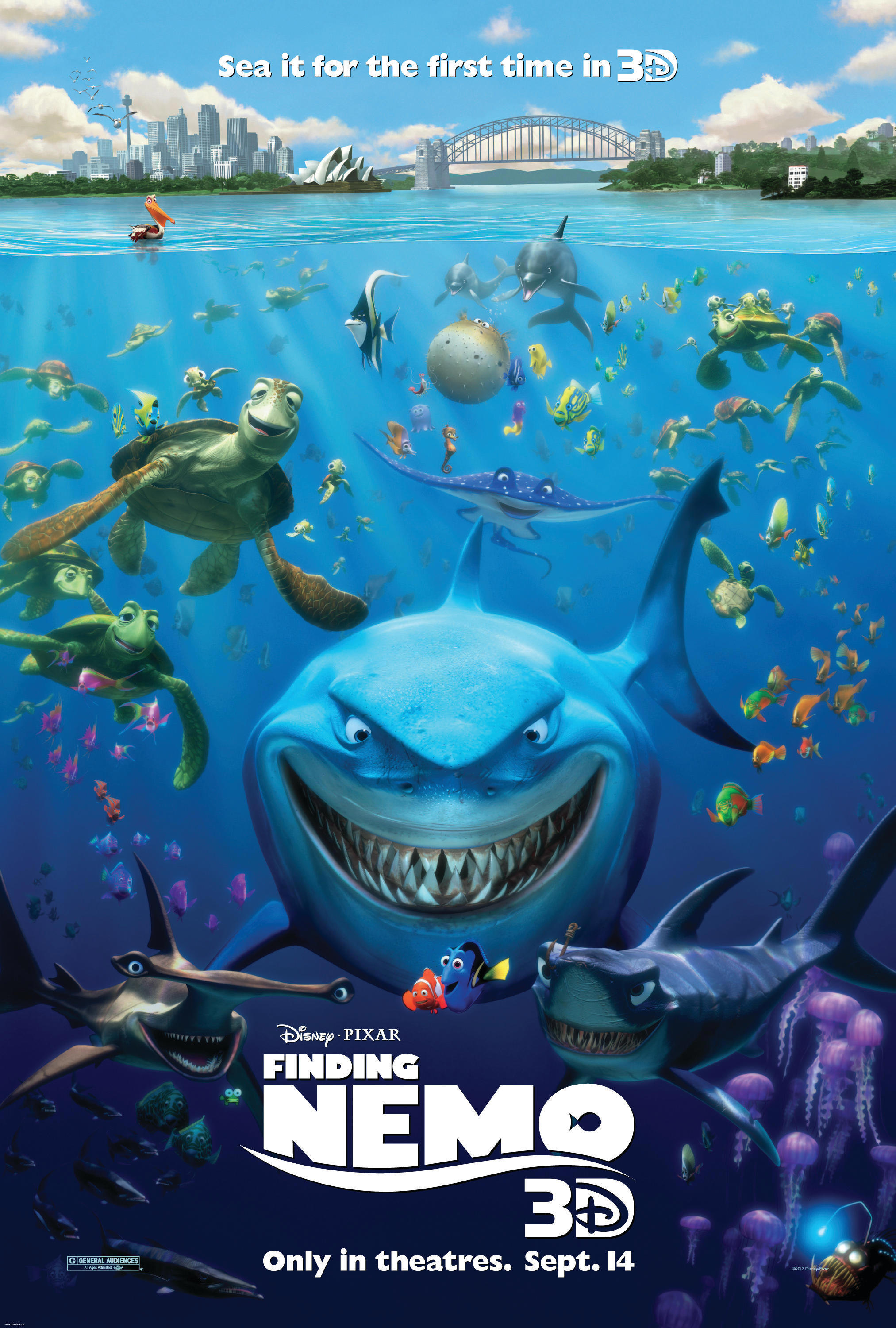 Disney S Finding Nemo Coloring Pages Student Handouts