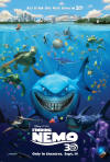 Finding Nemo 3D One Sheet Official Movie Poster