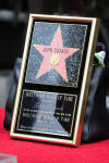 John Cusack's plaque for his star received on the Hollywood Walk of Fame, April 24, 2012.