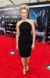 Scarlett Johansson at the Premiere of Marvel's The Avengers