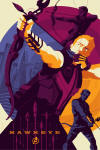Marvel's The Avengers Hawkeye Mondo Movie Poster
