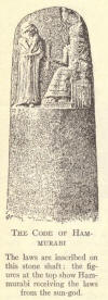 The code of Hammurabi.