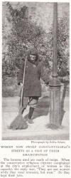 Woman Street Sweeper