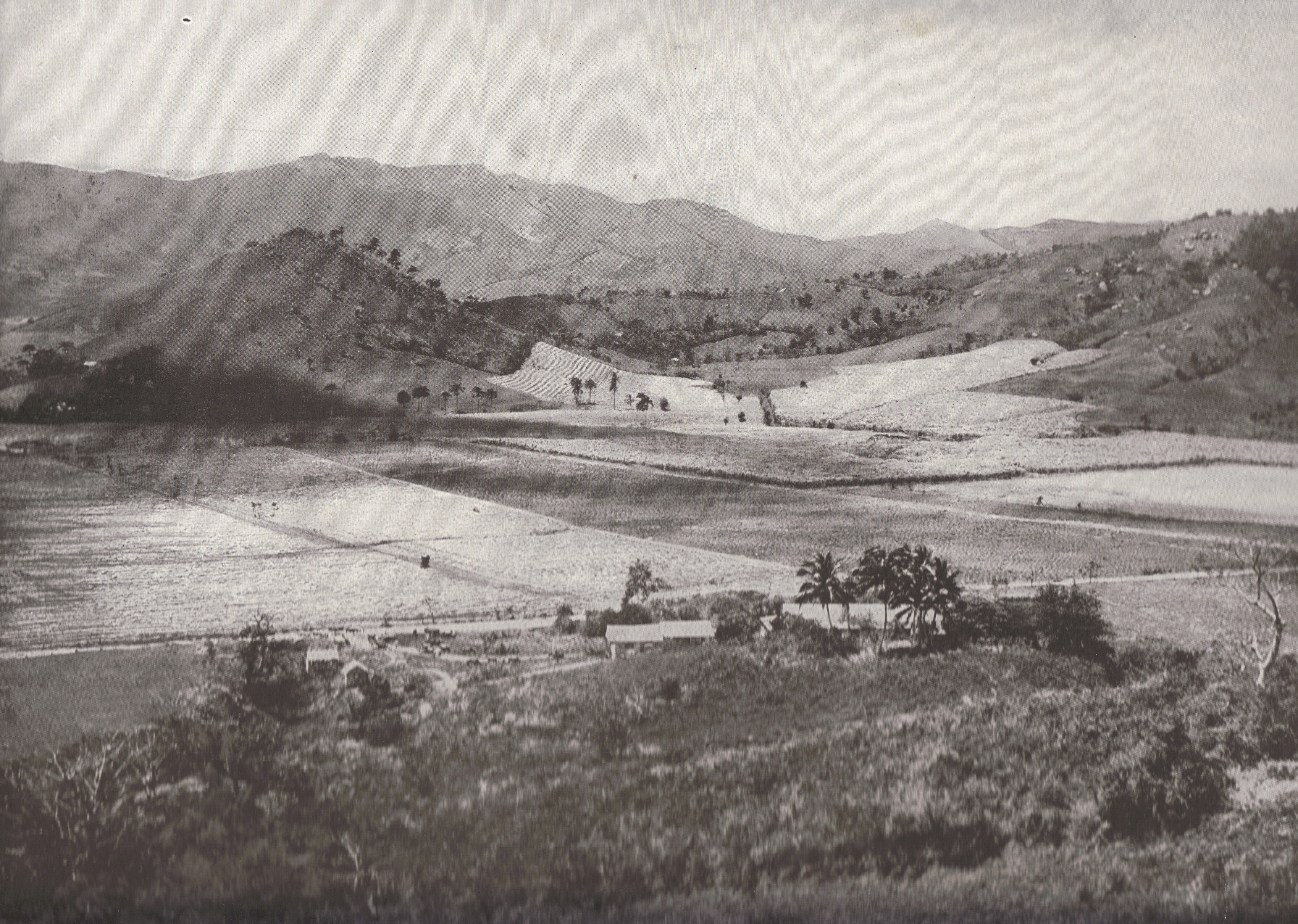 VIEW OF THE INTERIOR, NEAR THE MOUNTAINS (Cuba, 1898)