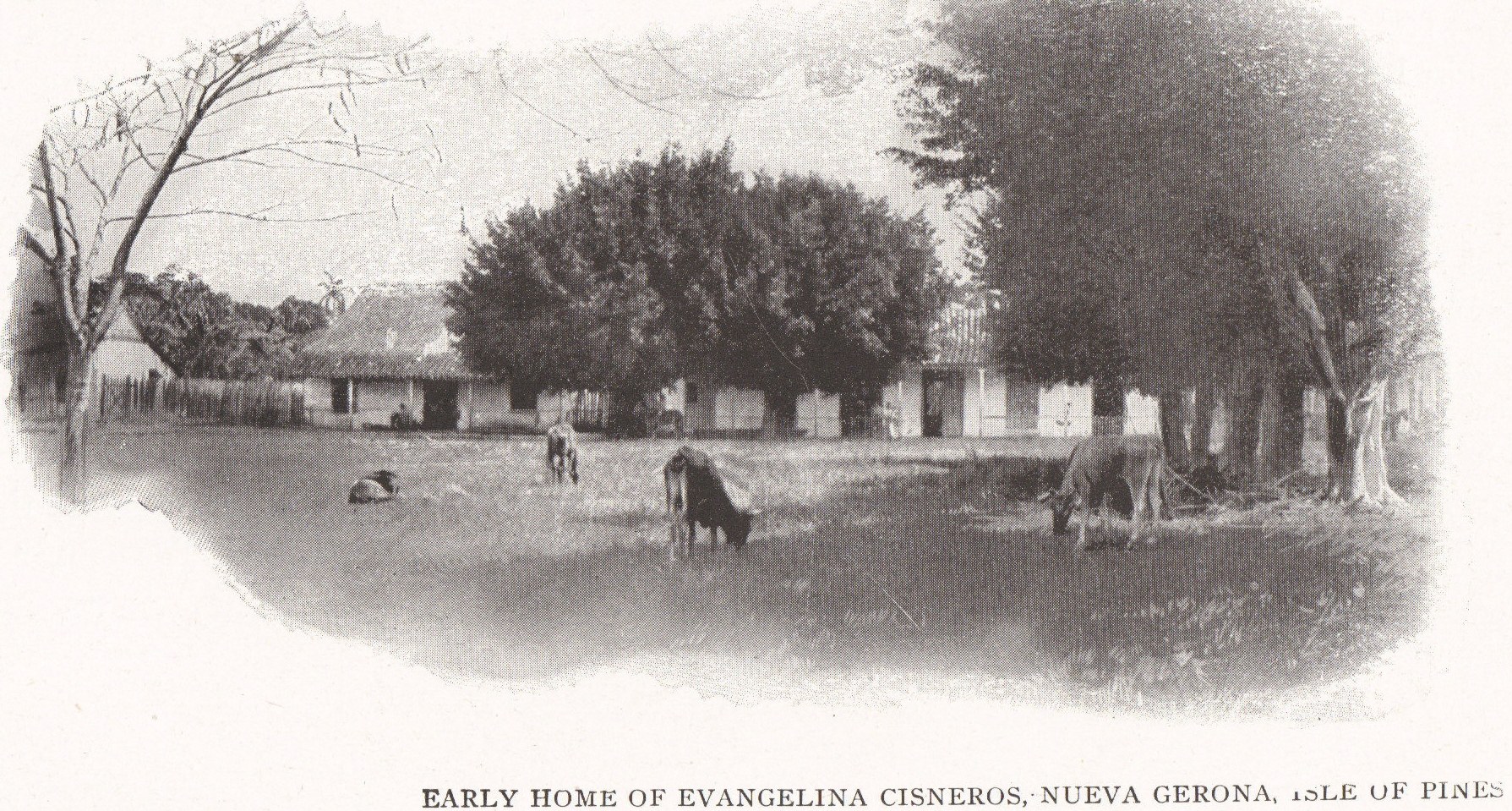 EARLY HOME OF EVANGELINA CISNEROS, NUEVA GERONA, ISLE OF PINES (ISLA DE LA JUVENTUD), CUBA