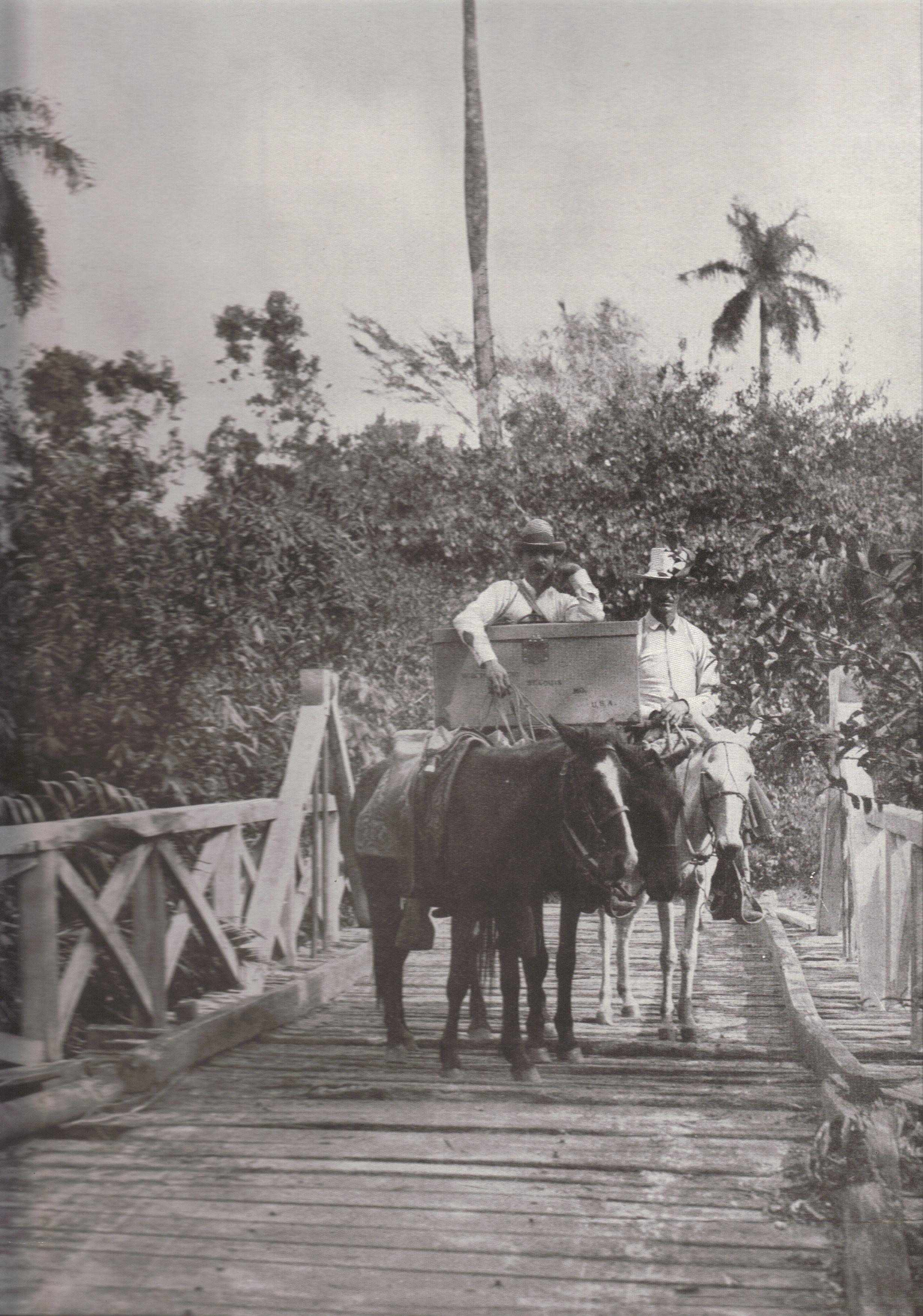 Bridge Across the Santa Fe River, Cuba (1898)