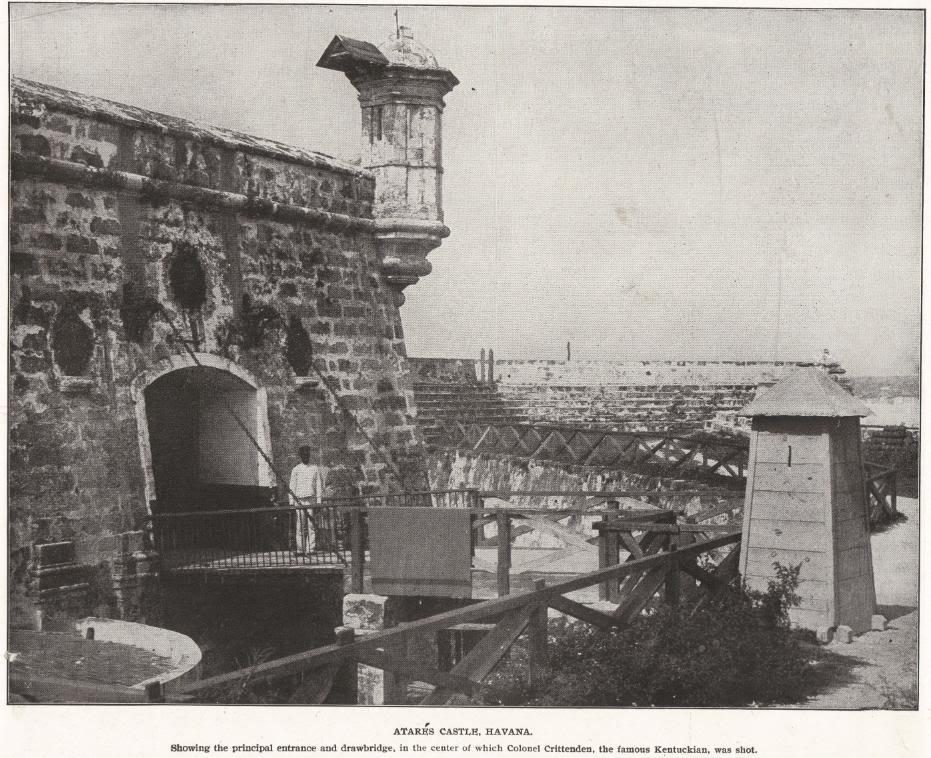 ATARES CASTLE, HAVANA, CUBA (1898)