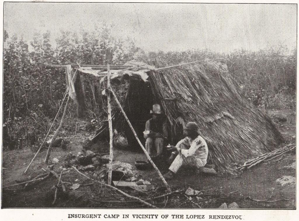 INSURGENT CAMP IN VICINITY OF THE LOPEZ RENDEZVOUS