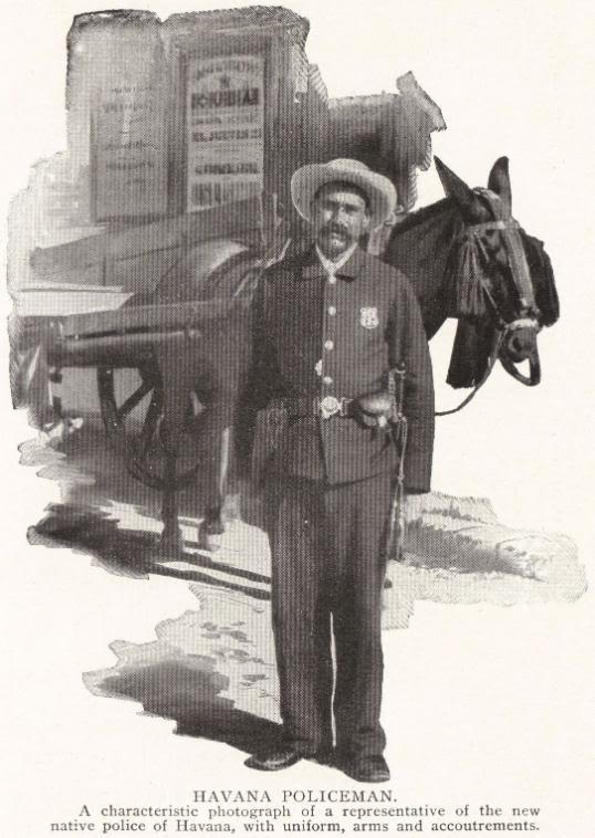 HAVANA POLICEMAN, 1898