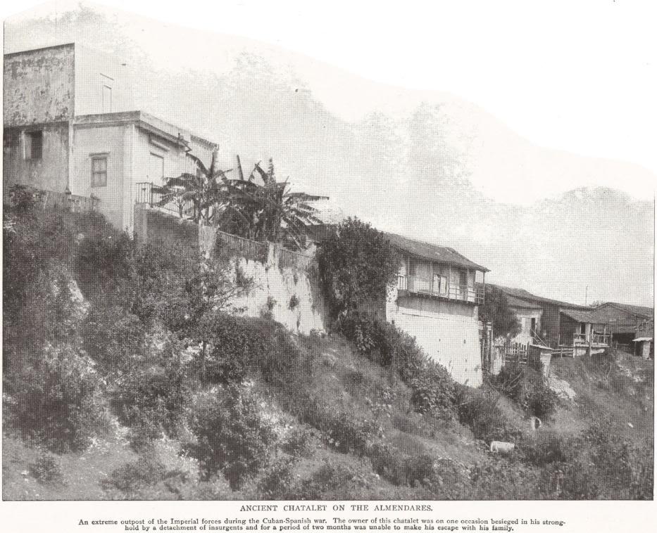 Ancient Chatalet on the Almendares, Cuba (1898)