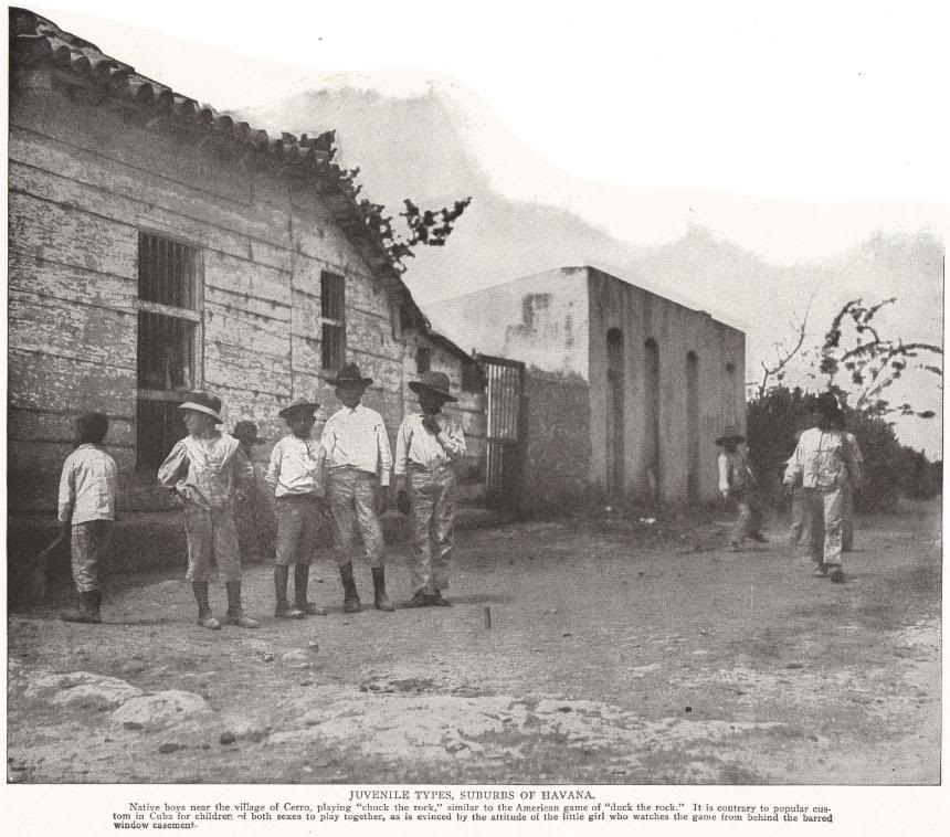 Juvenile Types, Suburbs of Havana, Cuba (1898)