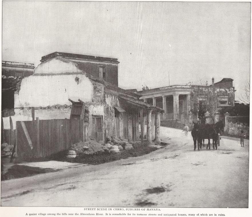 Street Scene in Cerro, Cuba (1898)