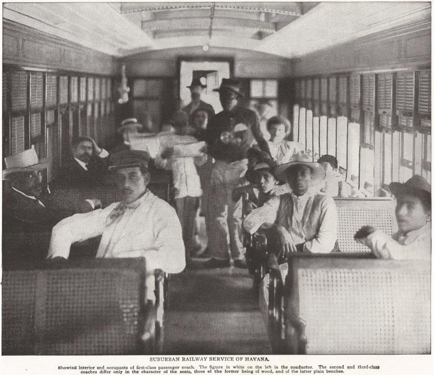 Suburban Railway Service of Havana, Cuba (1898)