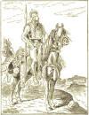 Clovis I of France on a Horse