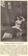 Josephine de Beauharnais, wife of Napoleon.