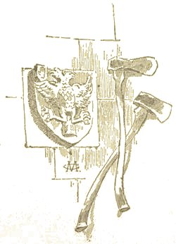 The Gladstone family arms.