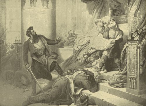 Following an upset regarding Peter's inheritance of the throne, the life of Peter I was saved at the foot of an altar.