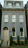 Victorian House with Curved Mansard Roof