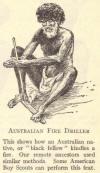 Australian fire driller.
