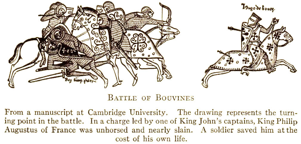 The Battle of Bouvines, 1214