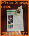 DIY Picture Dictionary for Kids