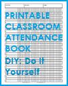 DIY Student Attendance Book