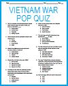 Vietnam War Pop Quiz
